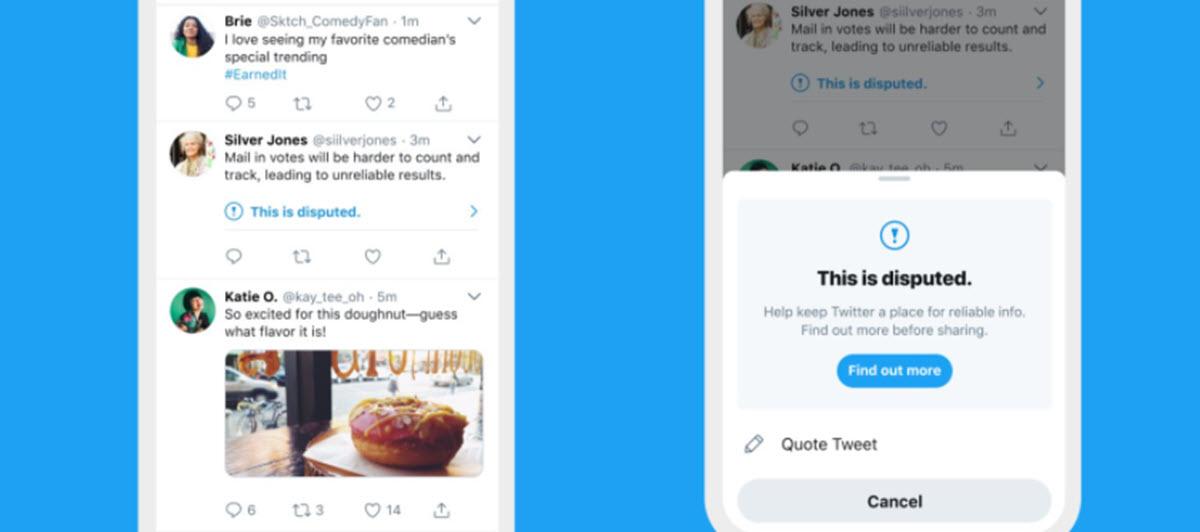 Twitter te mostrará una advertencia si intentas hacer esto