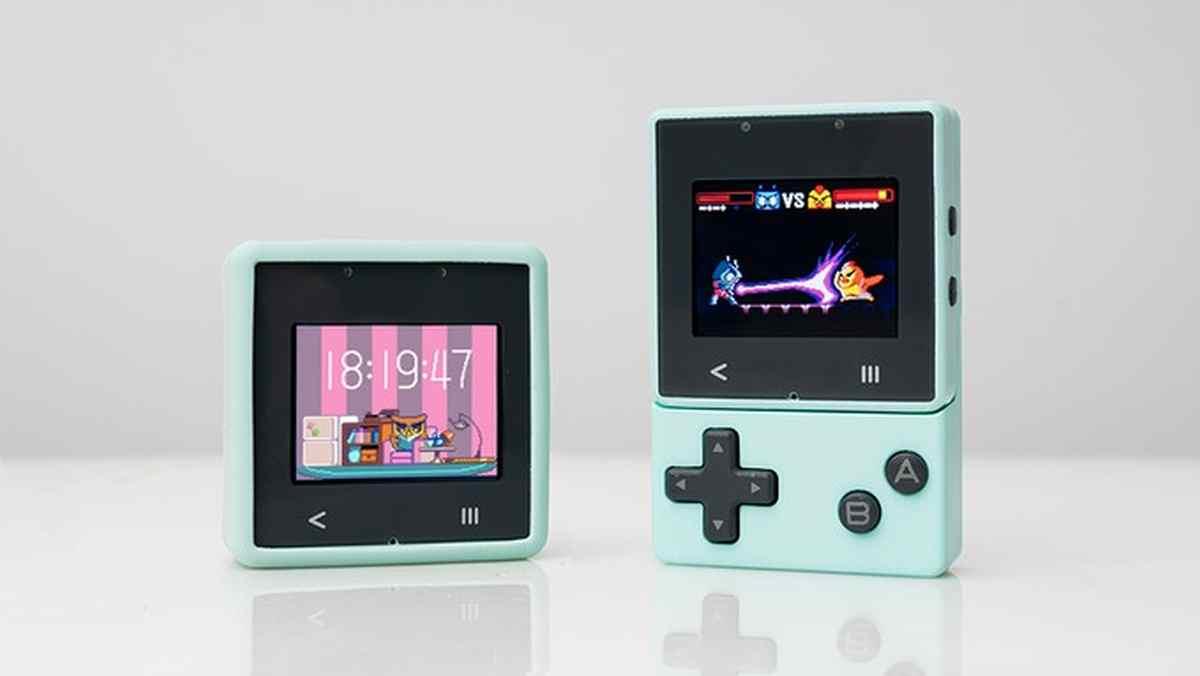 Una consola de videojuegos que permite a los niños aprender programación y más