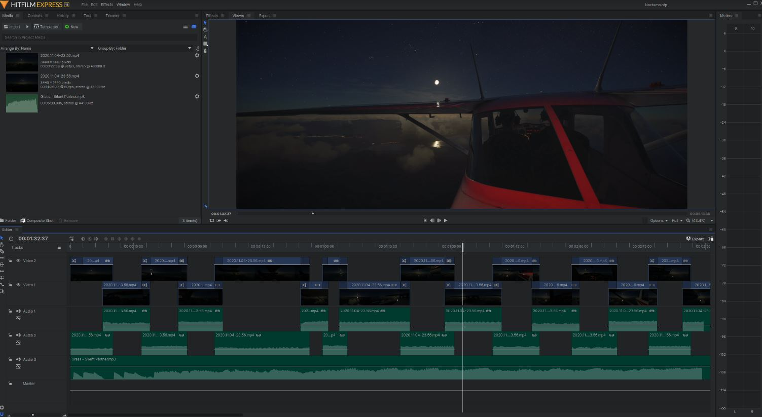 HitFilm Express, impresionante editor gratis de video, para principiantes, para Windows y Mac