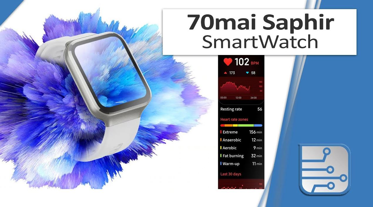 70mai Saphir, el nuevo reloj inteligente de 100 euros