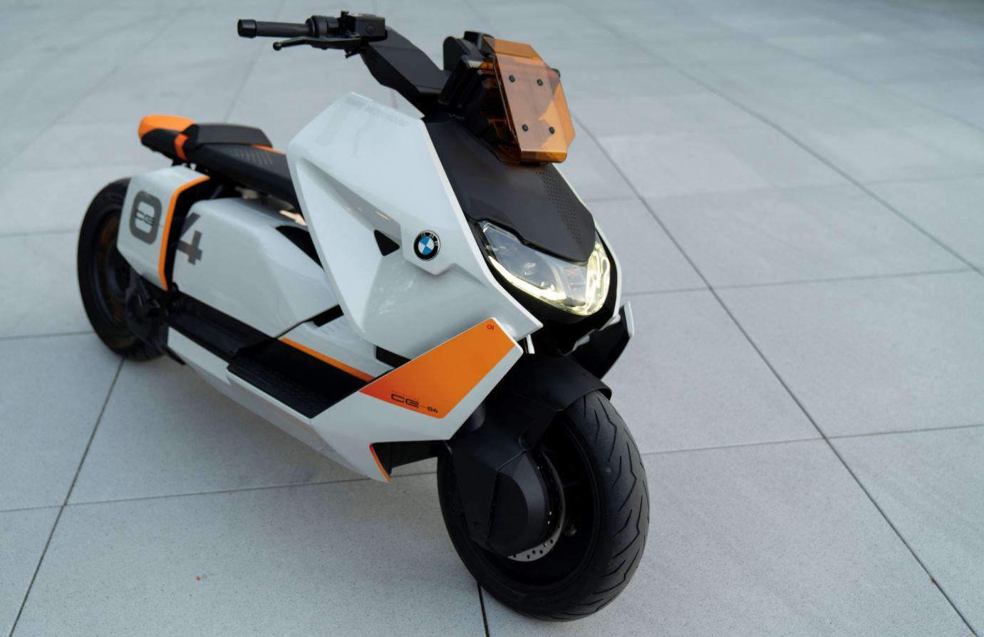BMW presenta concepto de moto eléctrica para ciudad