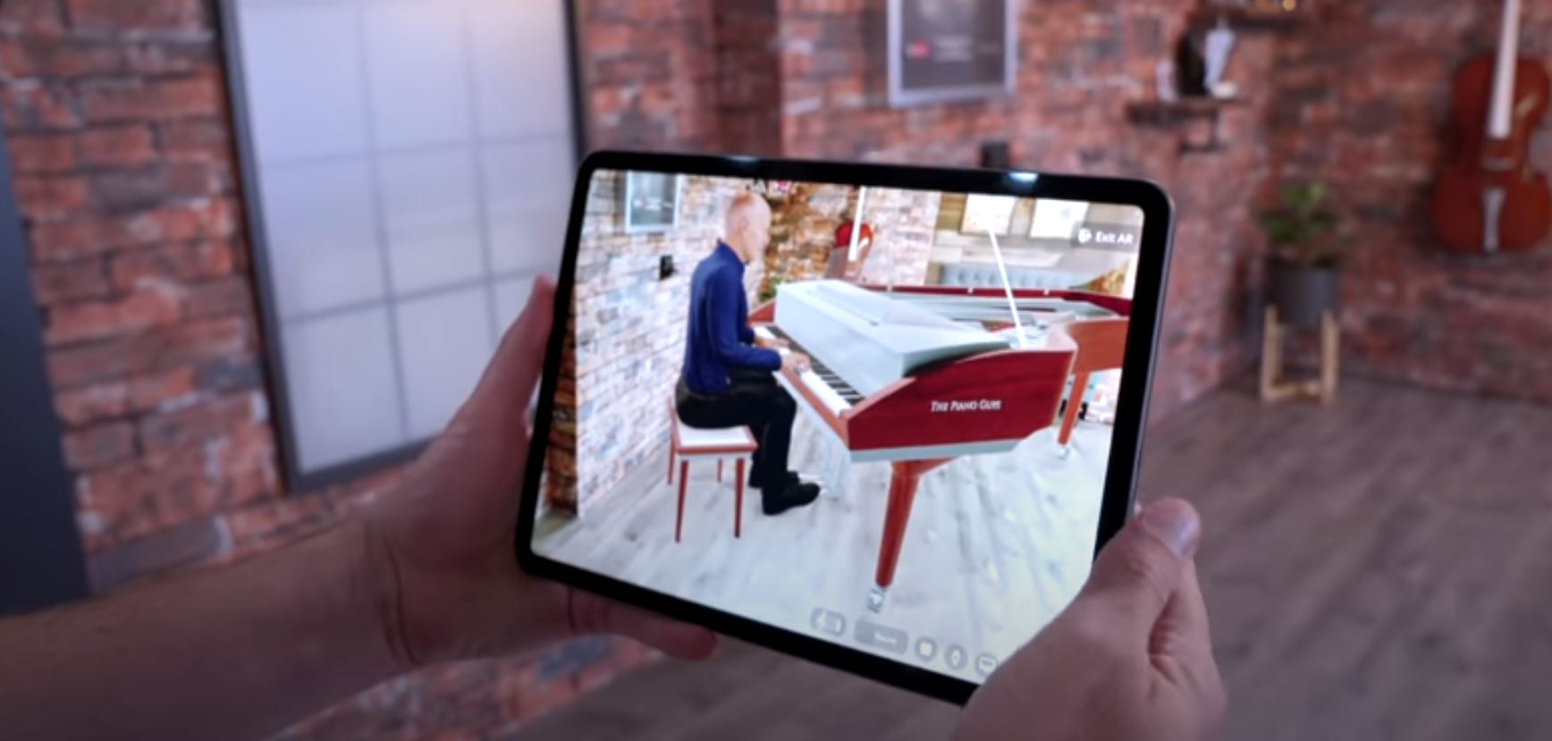 Piano virtual con Realidad Aumentada