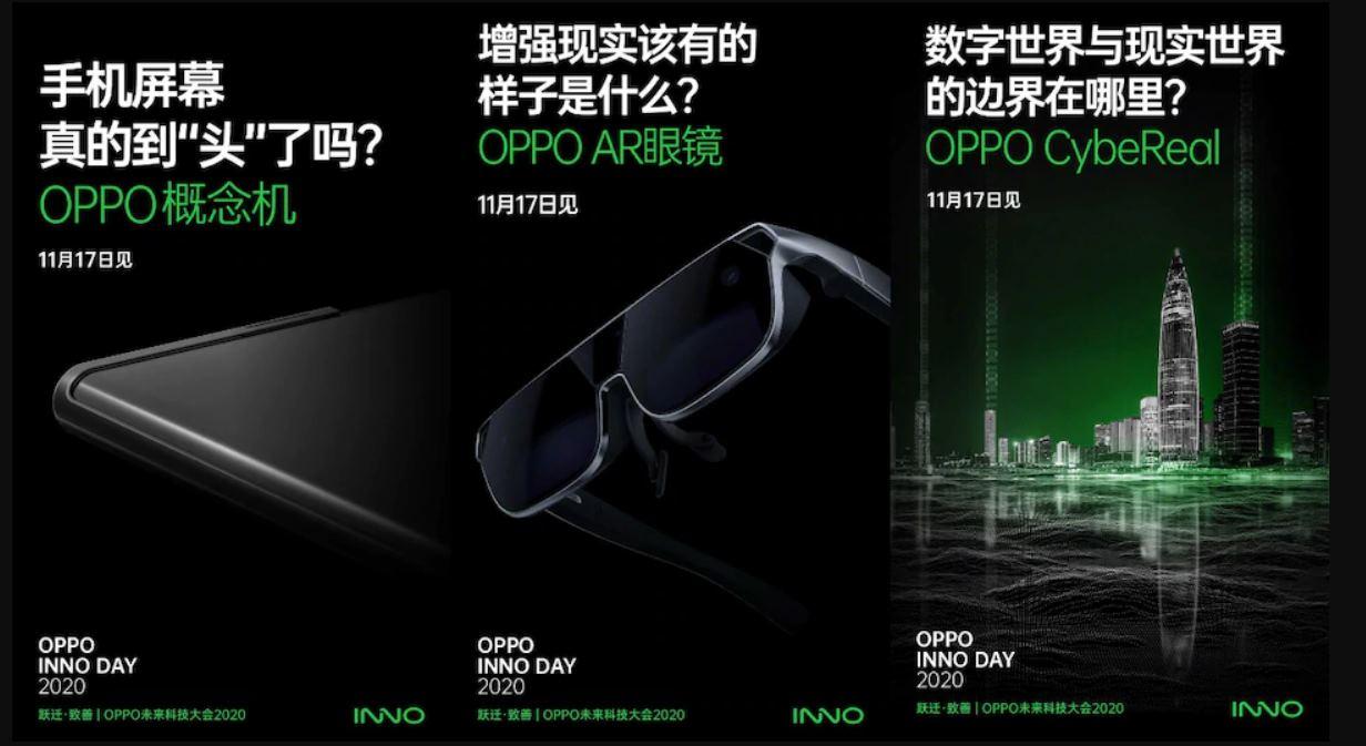 Así serán las gafas AR de Oppo