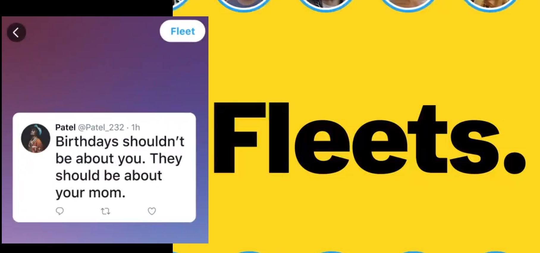 Fleets, las historias de Twitter que caducan en 24 horas