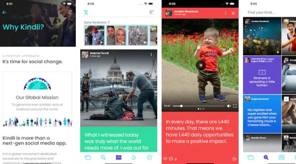 Kindli, una red social creada para hacer buenas obras