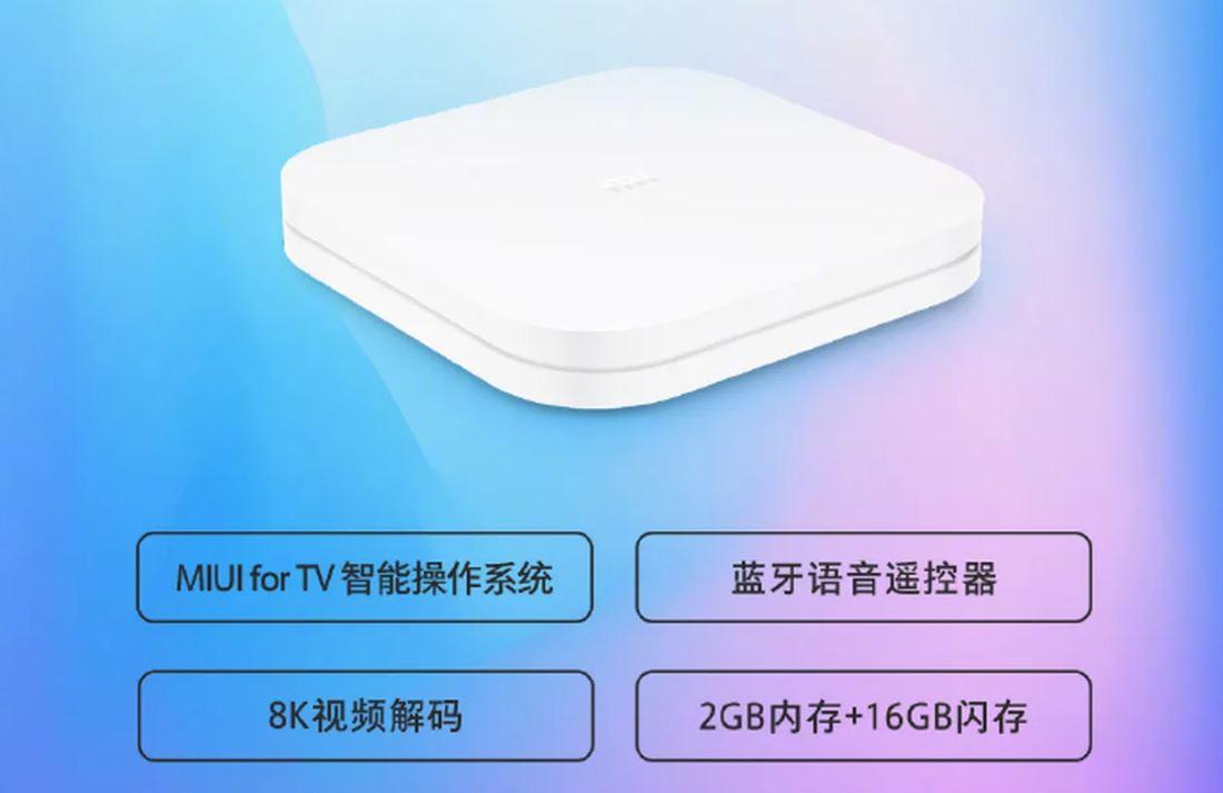 Mi Box 4S Pro, lo último de Xiaomi para ver contenido 8K en streaming