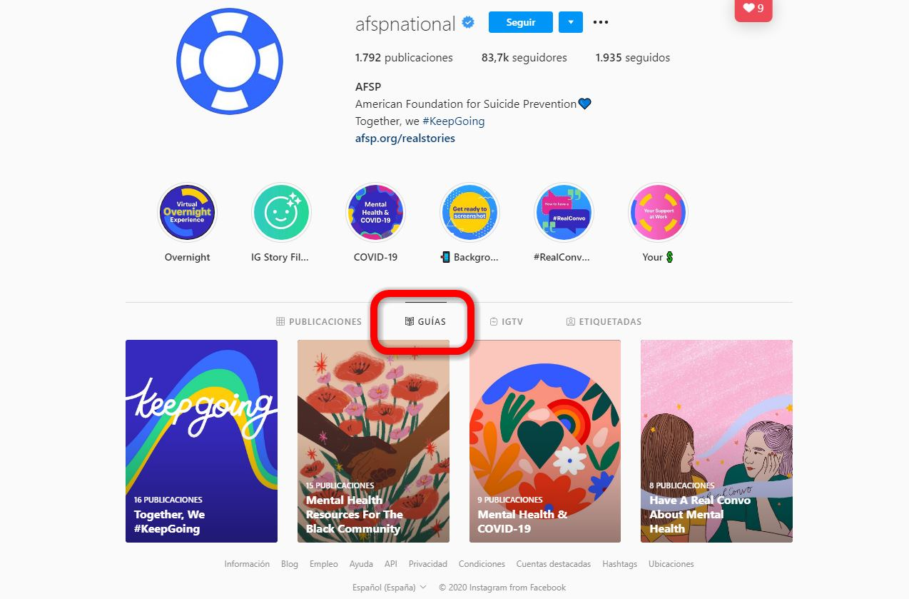 Instagram amplía «Guías», su recurso para aprender de los mejores
