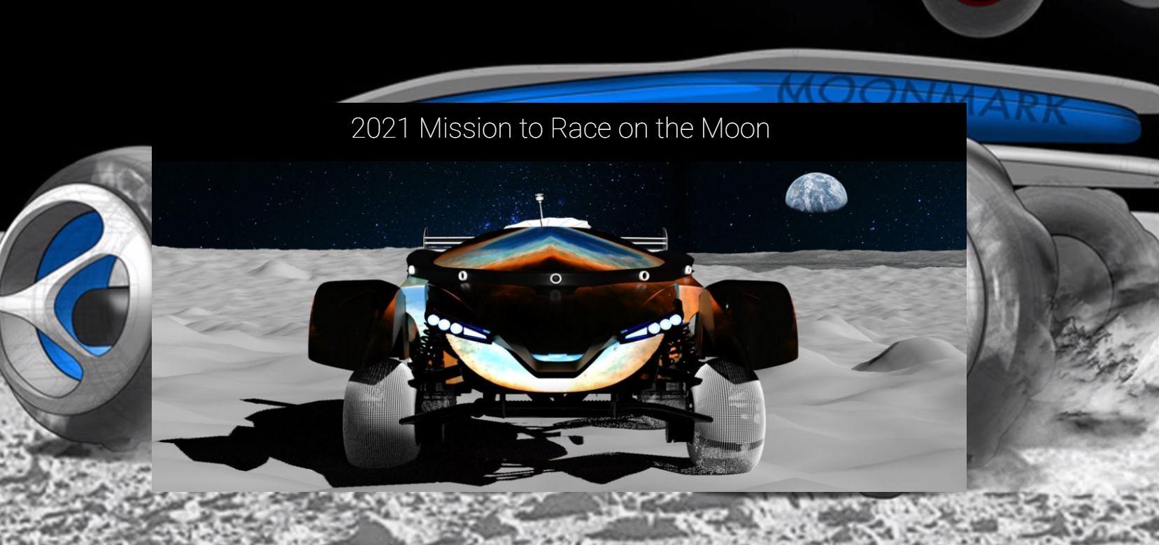 Habrá una carrera de coches en la Luna en 2021