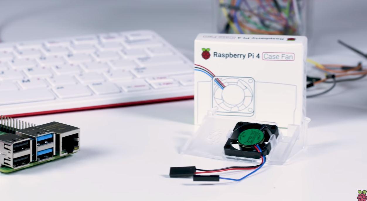 Fundación Raspberry Pi presenta ventilador y disipador de calor