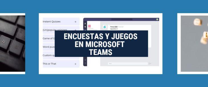 encuestas microsoft teams