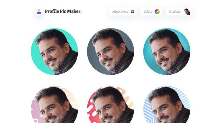PFPMaker, para crear fotos de perfiles en redes sociales