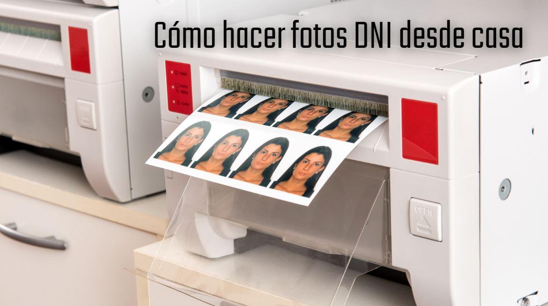 Cómo hacer fotos de DNI, pasaporte o carnet de conducir desde casa