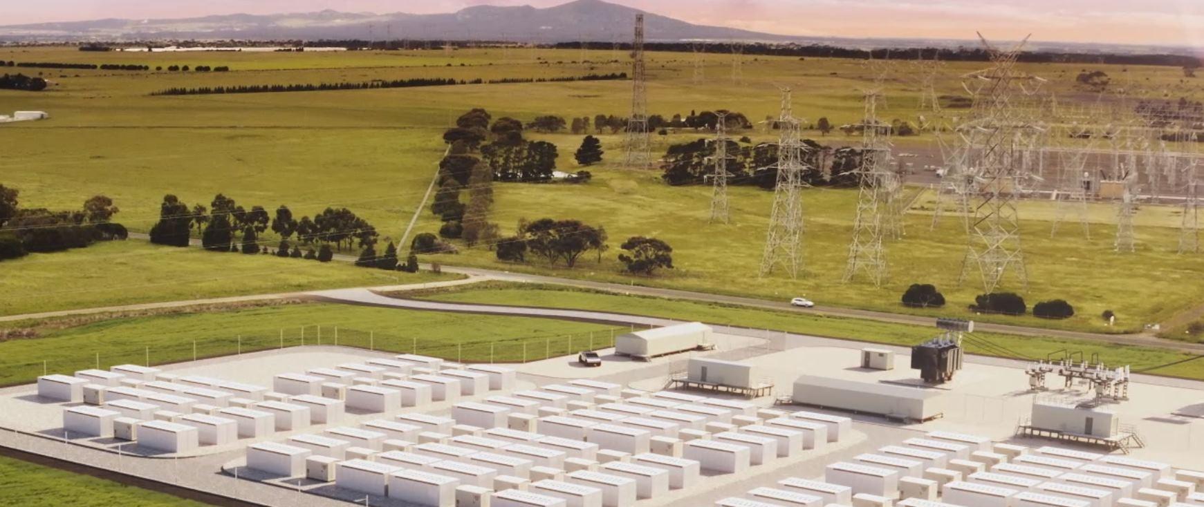 Australia construye una batería del tamaño de un campo de fútbol