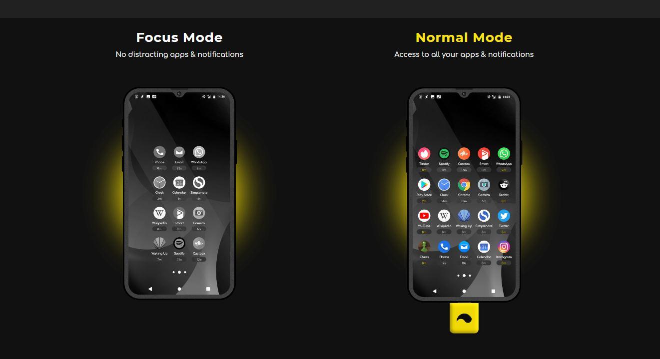unpluq, un dispositivo que se conecta a nuestro móvil para eliminar distracciones