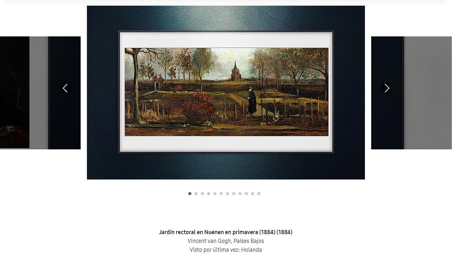 Samsung crea exposición de obras de arte desaparecidas
