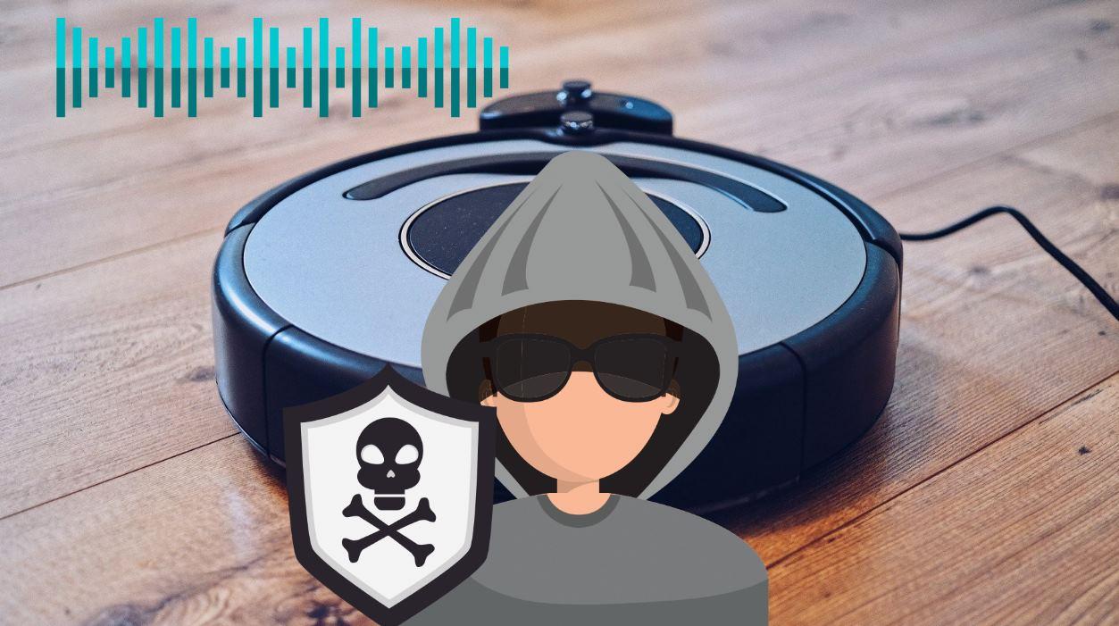 Hackear una aspiradora para usarla como micrófono y espiar a la familia