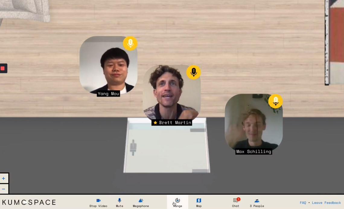 Kumospace, una forma diferente y relajada de hacer reuniones virtuales