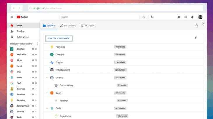 PocketTube, para gestionar los canales de Youtube a los que te has suscrito
