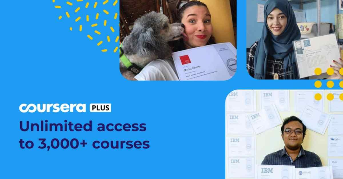 Llega Coursera Plus, lo nuevo de Coursera con acceso ilimitado a sus cursos