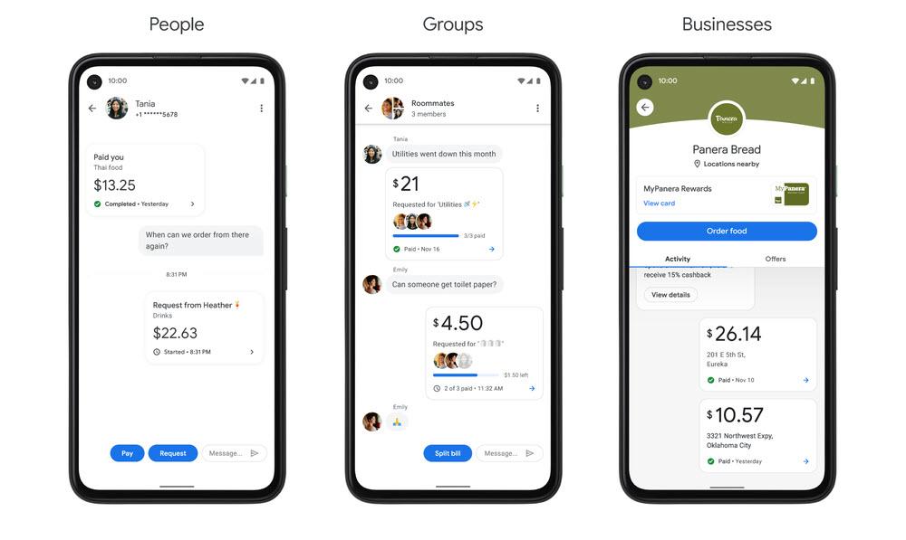 funciones Google Pay