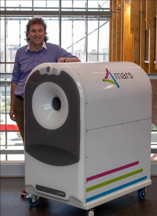 escaner para realizar pruebas de rayos x en 3d