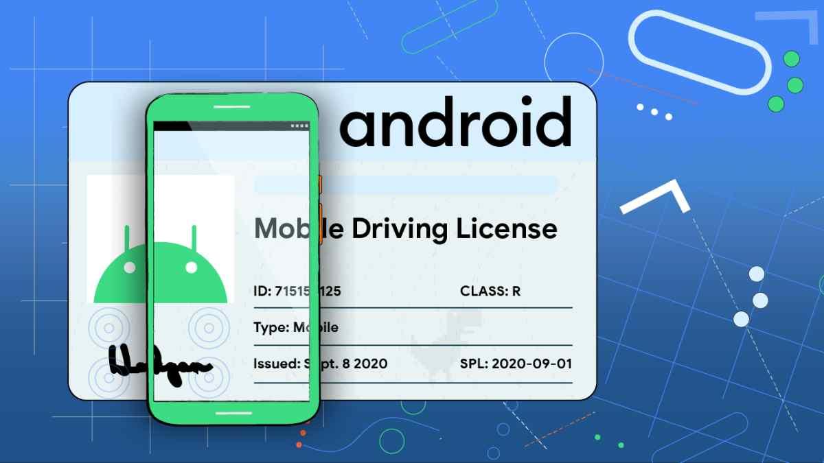Licencia de conducir móvil