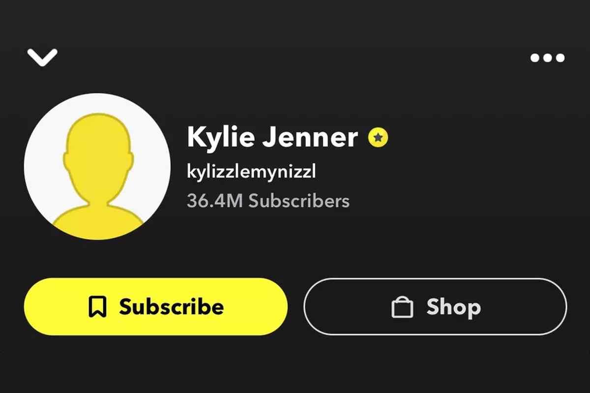 Los creadores de Snapchat ya pueden mostrar públicamente su número de suscriptores