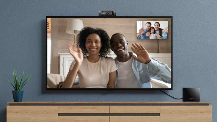 Videollamadas en el televisor con Alexa