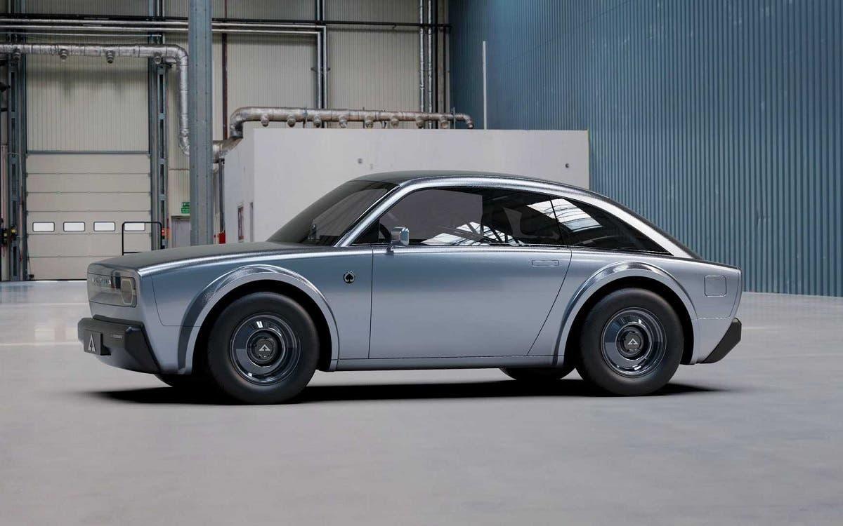Alpha ACE, coche eléctrico fabricado en California de estilo retro y una autonomía competitiva