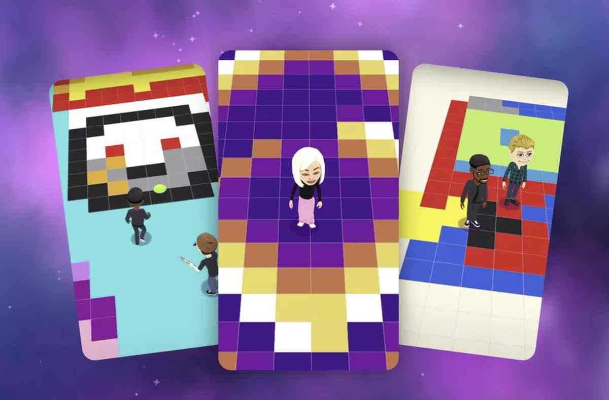 Así es Bitmoji Paint, el nuevo juego de Snapchat para crear arte pintando píxeles gigantes