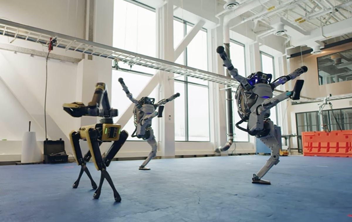 Los robots de Boston Dynamics hacen una coreografía de baile que te dejará con la boca abierta