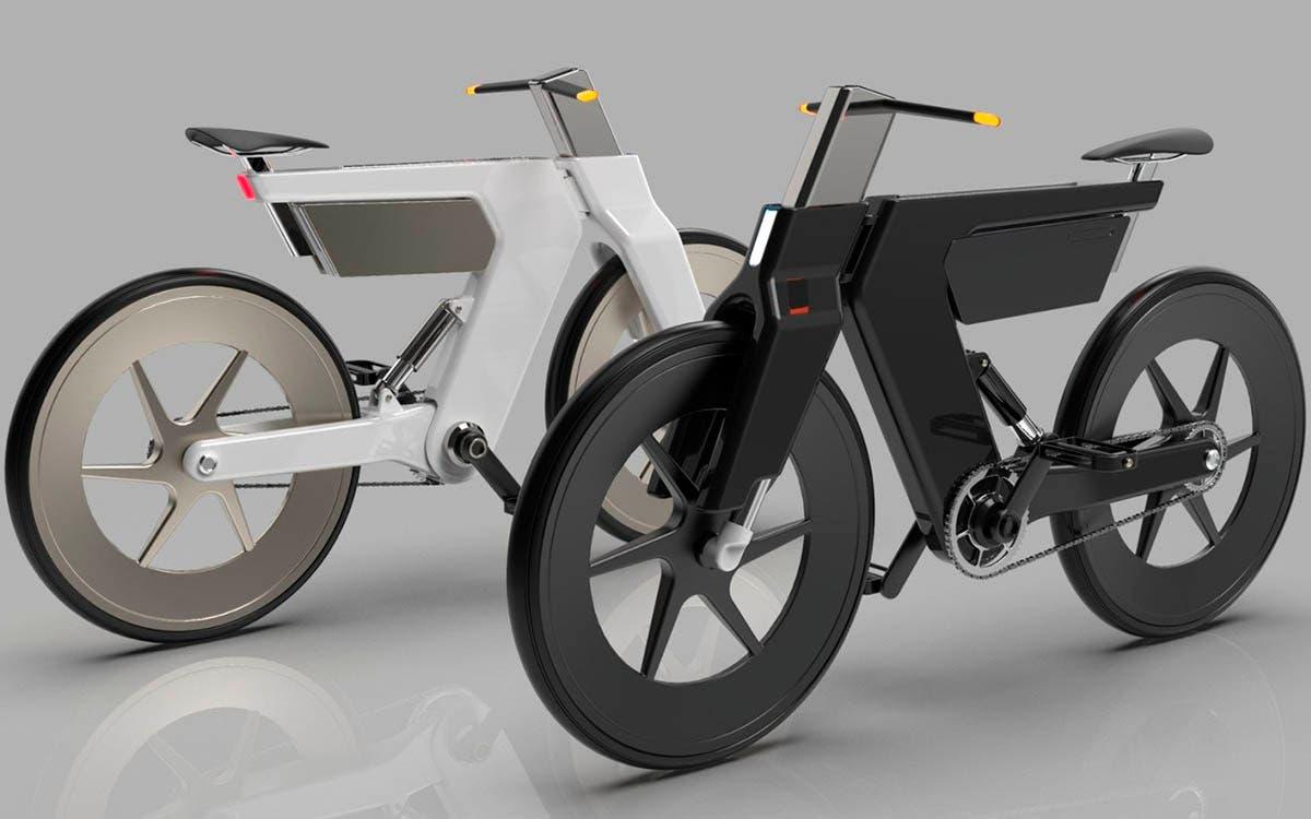 Conoce la Euclid e-bike, la bicicleta eléctrica inspirada en el padre de la geometría