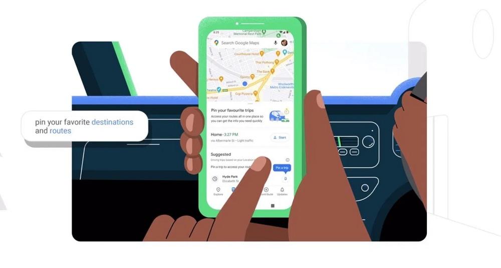 Google Maps actualización en Android