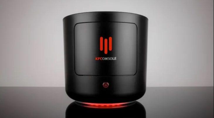 KFConsole, la nueva consola de videojuegos de KFC en la que podrás jugar y calentar tu pollo frito.j