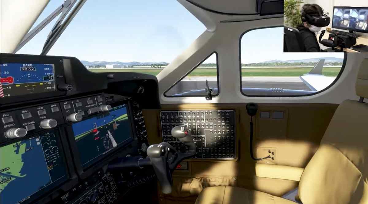 Llega la Realidad Virtual a Microsoft Flight Simulator