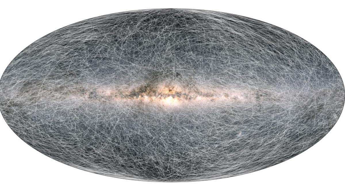El mapa en 3D de la Vía Láctea más preciso hasta el momento
