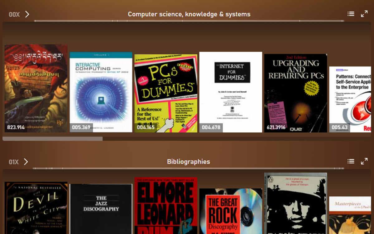 Internet Archive te permite explorar libros como si estuvieras en una biblioteca física