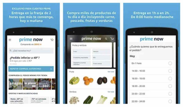 Amazon Prime Now App