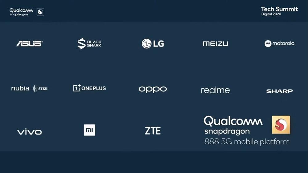 Qualcomm móviles con Snapdragon 888