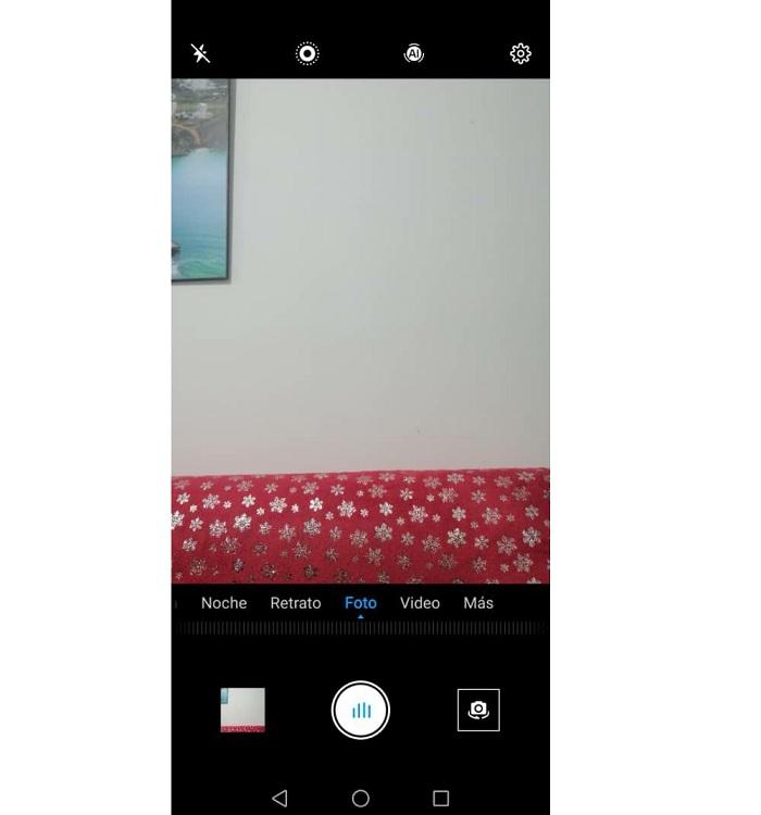 Selfie on Huawei phones