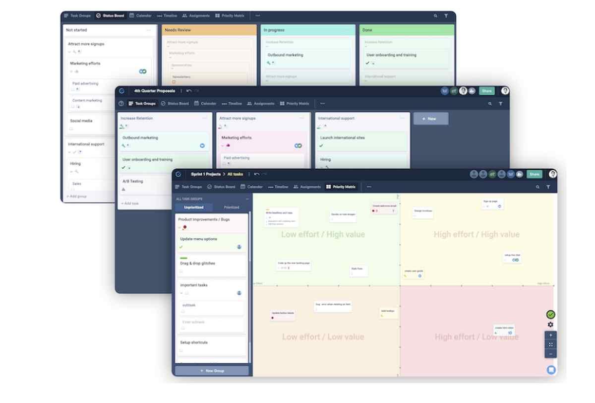 Una plataforma de gestión de proyectos que te ayuda con la priorización de tareas