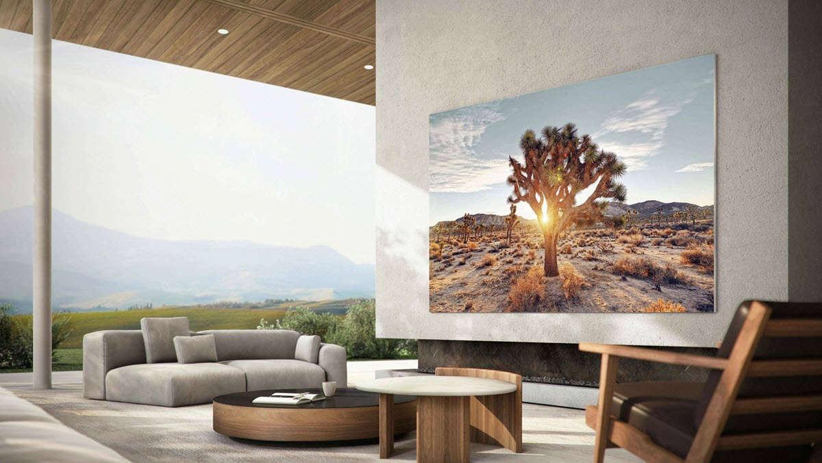 TV MicroLED Samsung
