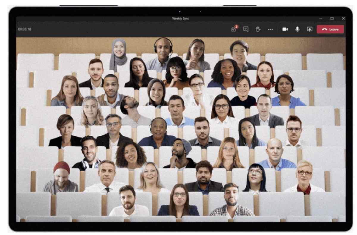 Microsoft lleva el modo Juntos de Teams a Skype