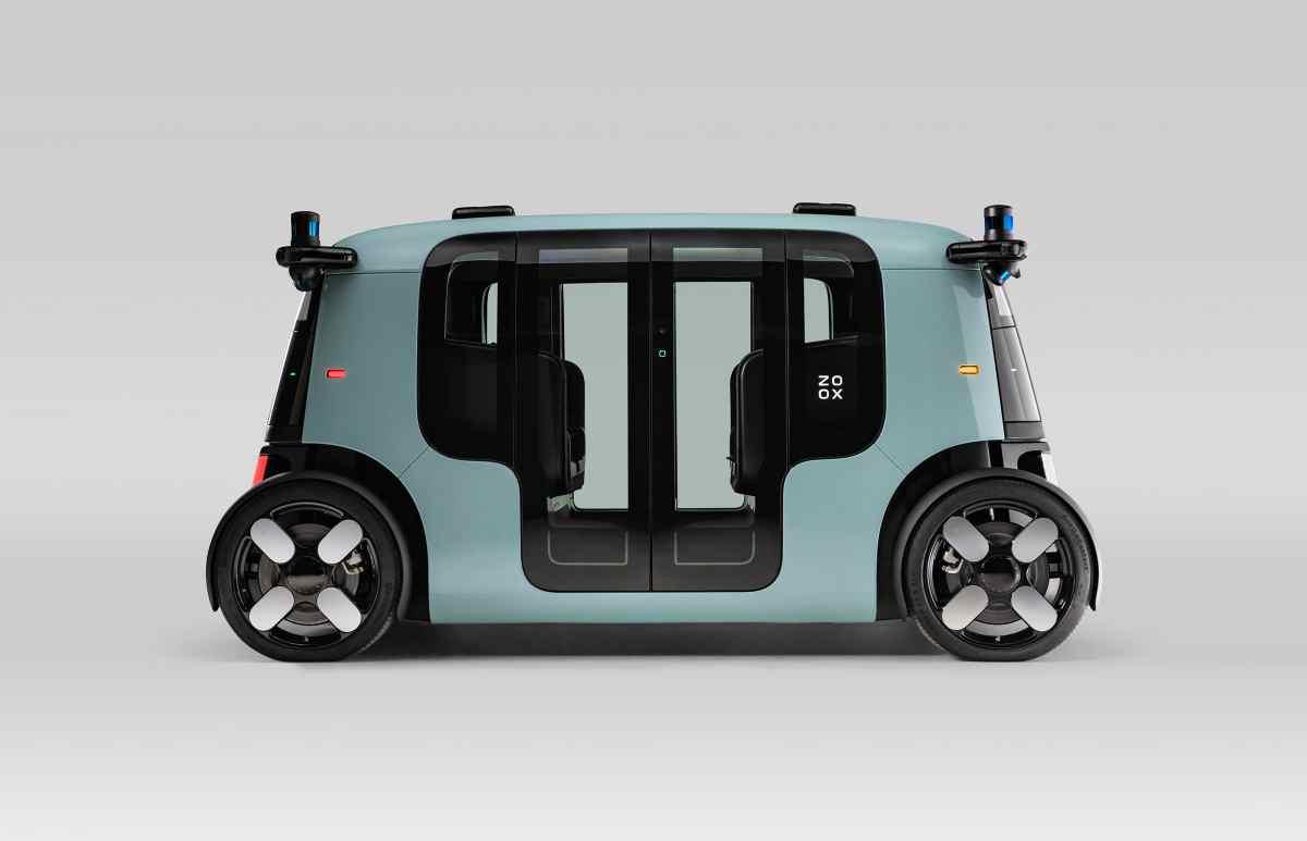 Así es el primer vehículo autónomo de Zoox para su servicio de robotaxis