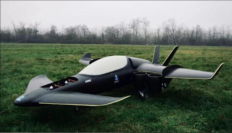 aeronave hibrida electrica de manta aircraft