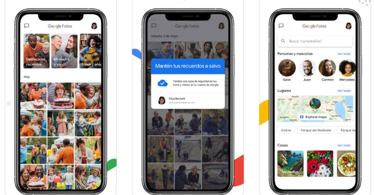 Google Fotos crea un wallpaper animado con tus fotografías