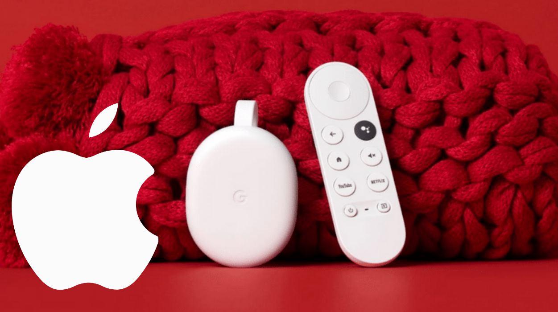 El nuevo Chromecast tendrá Apple TV+