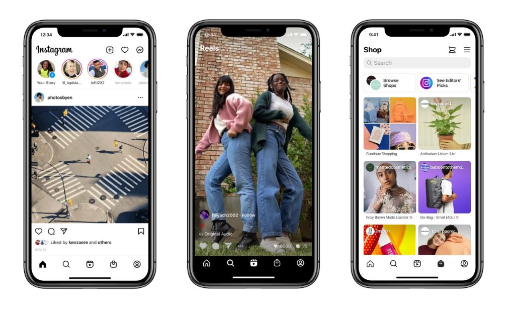 Nace Shoppings in Reels: la nueva función de Instagram para compras