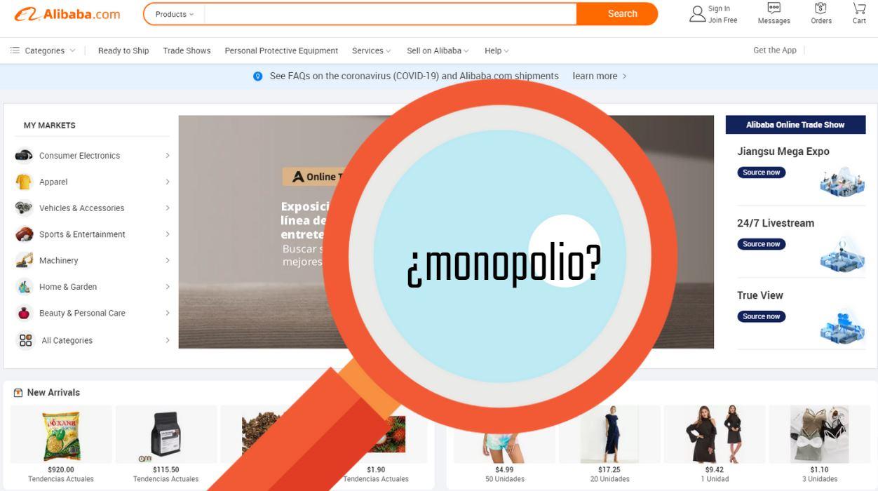 China investiga a Alibaba por monopolio