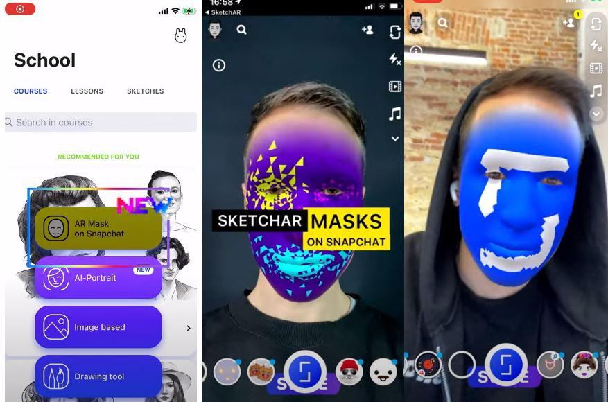Cómo crear máscaras personalizadas en Snapchat